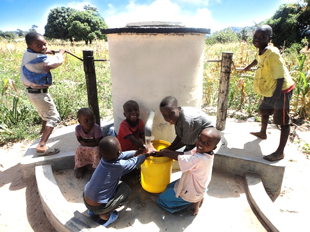 Aquaid Elephant Pump in Africa
