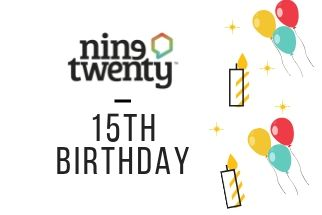 Many happy returns. Nine Twenty Turns 15 Years Old.